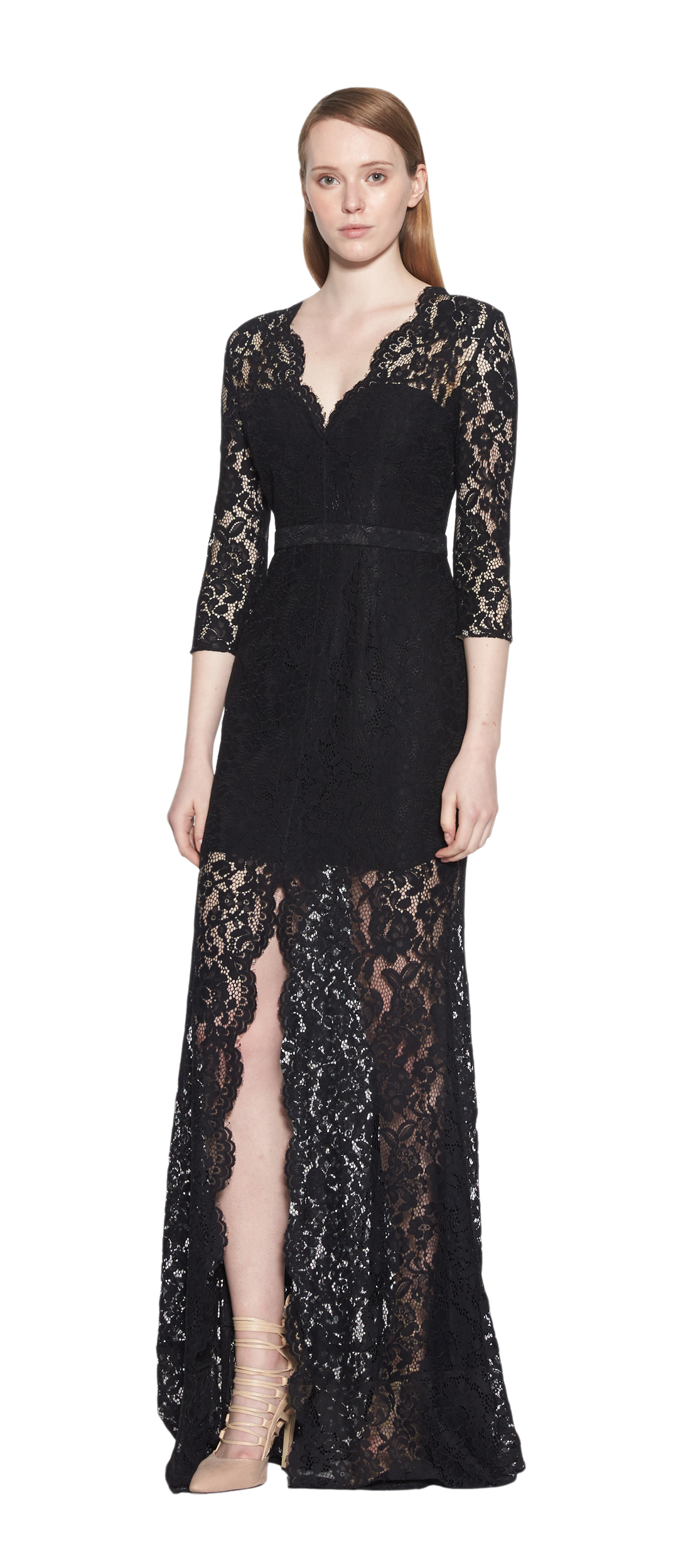 Padova Long Sleeve Lace Gown