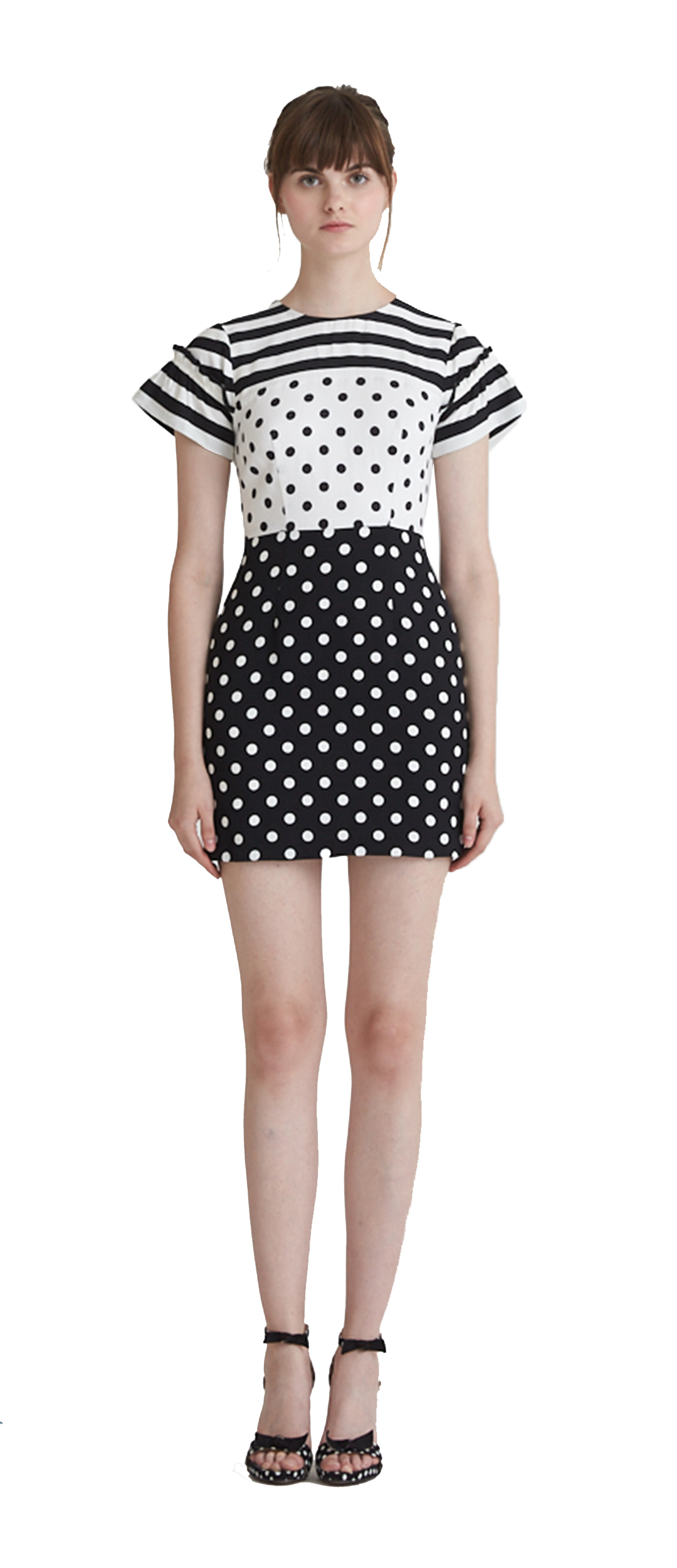 db7ce49299 JULIA POLKA STRIPE SHIFT DRESS  269.00