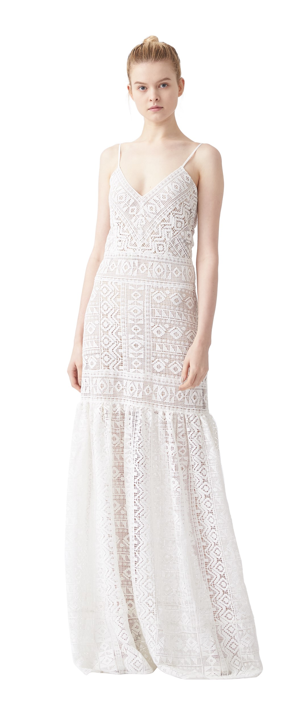 Natalie Crochet Maxi Dress