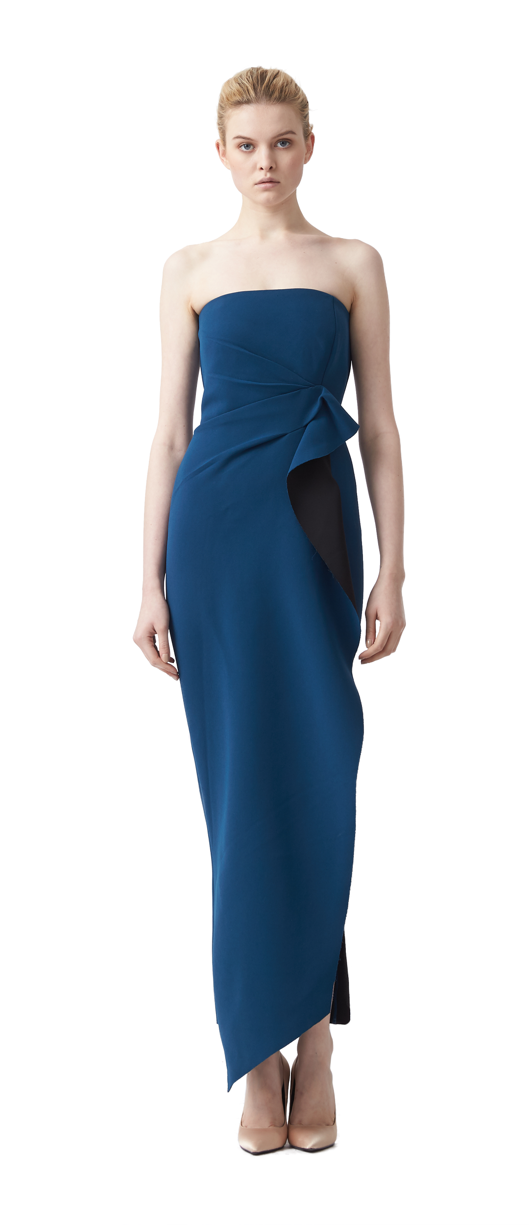 1914c71350fb CAMILLE BONDED BUSTIER MAXI DRESS $419.00